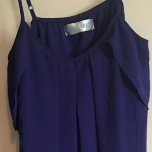 Dresses & Skirts - Dark blue boutique dress